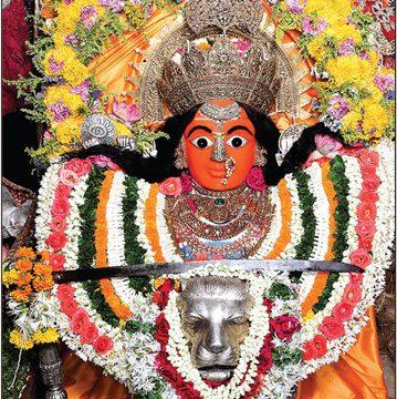 The Mother Goddess of Mumbai City